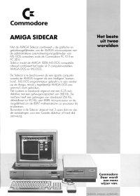 Brochures: Amiga A1060 - Sidecar