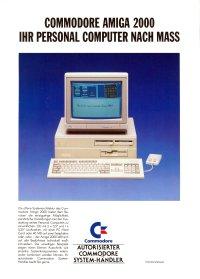 Brochures: Amiga 2000 (1)