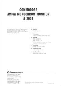 Brochures: Amiga 2024