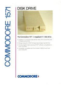 Brochures: Commodore 1571 (1)
