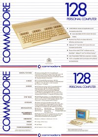 Brochures: Commodore C128 (1)