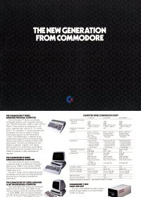 Broschüren: The new generation from Commodore.