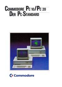 Broschüren: Commodore PC 10 / PC 20