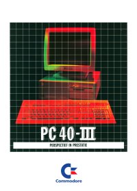Brochures: Commodore PC 40-III