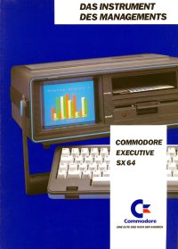 Brochures: Commodore SX-64