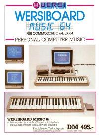 Broschüren: Wersi - Wersiboard Music 64