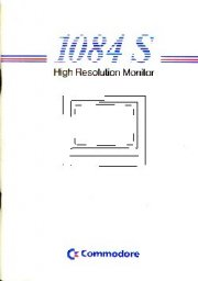 1084S High Resolution Monitor