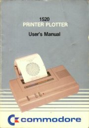 1520 Printer Plotter User's Manual