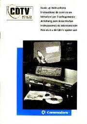 Commodore CDTV User Guide