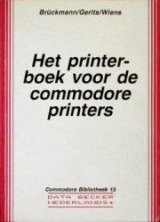 Data Becker - Het printerboek voor de commodore printers