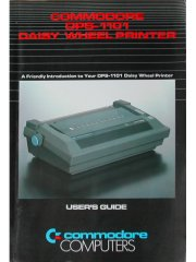 Commodore DPS-1101 Daisy Wheel Printer