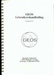 GEOS Gebruikershandleiding Version 1.2