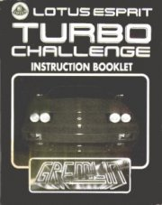 Lotus Esprit Turbo Challenge Instructions