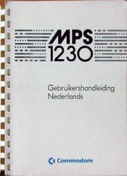 MPS 1230 Gebruikshandleiding Nederlands
