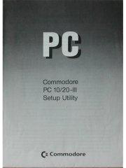 Commodore PC10/20-III Setup Utility