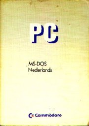 PC MS-DOS Nederlands
