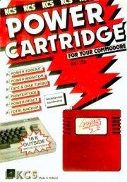 Power Cartridge Handleiding