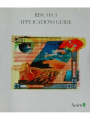 RISC OS3 Applications Guide