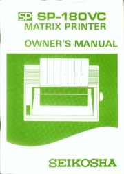 SP-180VC Matrix Printer Owner's Manual