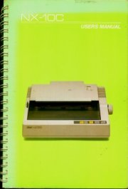 Star NX-10C User's Manual