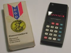 Commodore 796 M with original packaging.