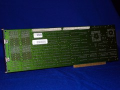 The rear view of the A 2630 accelerator card with a 68030 CPU.