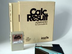 Calc Result Advanced with original packaging.