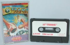 Commodore C64 game (cassette): 10th Frame