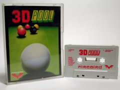 Commodore C64 game (cassette): 3D Pool