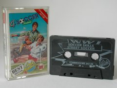 Commodore C64 game (cassette): 4 Soccer