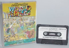 Commodore C64 game (cassette): Alternative World Games