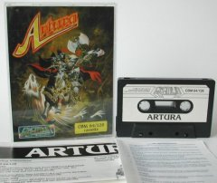 Commodore C64 game (cassette): Artura