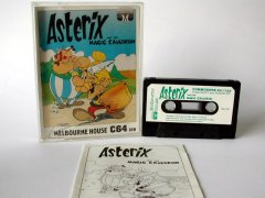 Commodore C64 game (cassette): Asterix