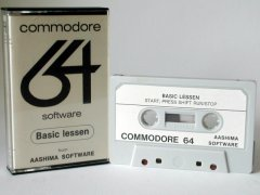 Commodore C64 educational program (cassette): Basic Lessen