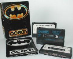 Commodore C64 game (cassette): Batman
