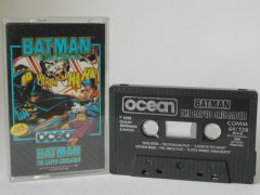 Commodore C64 game (cassette): Batman The Caped Crusader