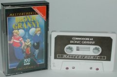 Commodore C64 game (cassette): BionicGranny