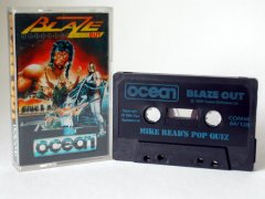 Commodore C64 game (cassette): Blaze Out