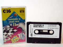 Commodore C16, C116, Plus/4 game (cassette): C16 Games Pack II