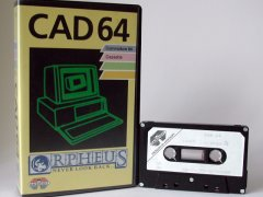 Commodore C64 graphical editor (cassette): CAD 64