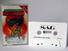 Commodore C64 game (cassette): Countdown to Meltdown