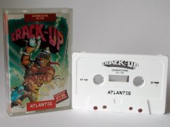 Commodore C64 game (cassette): Crack-Up
