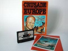 Commodore C64 game (cassette): Crusade in Europe