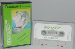 Commodore C64 database program (cassette): Databasis