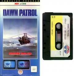 Commodore C64 game (cassette): Dawn Patrol