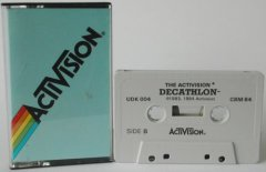 Commodore C64 game (cassette): Decathlon