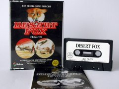 Commodore C64 game (cassette): Desert Fox