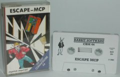 Commodore C64 game (cassette): Escape - MCP