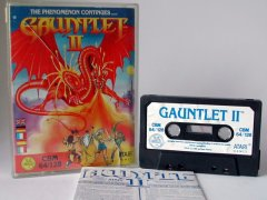 Commodore C64 game (cassette): Gauntlet II