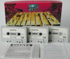 Commodore C64 game (cassette): GIANTS